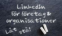Grundkurs - LinkedIn för företag & organisationer